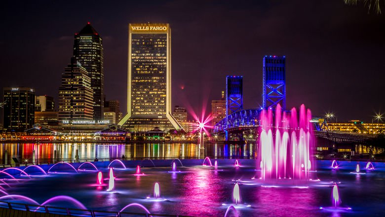 Friendship Fountain Jacksonville, Florida