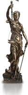Statuette - lawsuit loan company